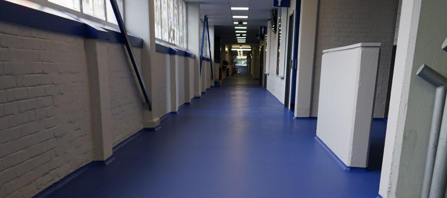 QPR concourse flooring